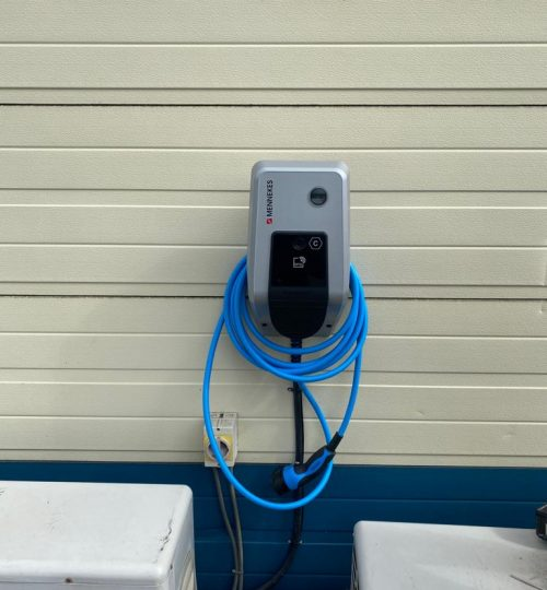 Commercial EV Charging Point